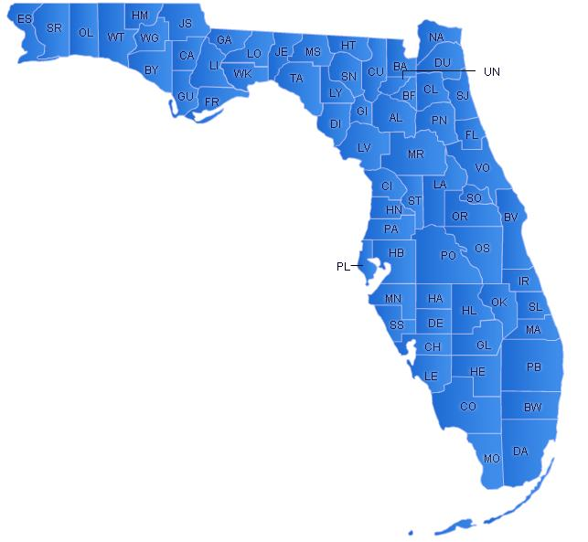 Florida has approximately 11 Councils with over 150 praesidia, each council falls under a different Diocese, all Comitia/Curie have been categorized under its concerned Diocese. To find out more about the Legion of Mary in Florida, click on the Map.